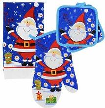 sortiert 5PC Weihnachten Küche Bettwäsche Sets