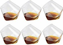Sortim 6 Stück 400ml Weinglas Whiskeygläser