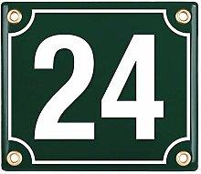 Sosenco Hausnummerschild Hausnummer - 12x14 cm -
