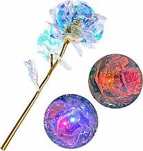 Souarts Kunstblumen Galaxy Rose Beleuchten