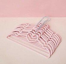 Soul hill 10pcs / Set-Rosa-Bogen-Kleiderbügel aus
