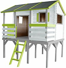 SOULET Spielhaus Romane mit Podest + Vorraum