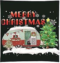 SoundJA Tapisserie Decke Weihnachten Brief