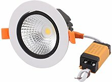 sourcing map Decke Lampe mit LED Treiber AC85-265V
