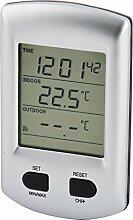 sourcing map Indoor Outdoor Temperatur Zeitanzeige