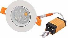 sourcing map LED COB Decke Lampe mit LED Treiber