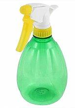 Sourcingmap 0,5Liter 550ml Pflanzen Bewässerung Kunststoff Trigger Sprayer Flasche–Transparent/Grün