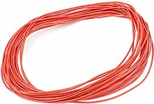 sourcingmap® 10M 22AWG Elektronisch Kupfer Flexibel Silikon Draht Kabel Ro