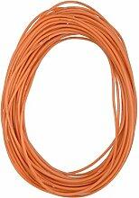 sourcingmap® 10M 26AWG elektrischer Kupfer Kern flexibel Silikon Kabel Draht orange RC Modell