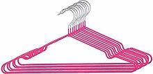 sourcingmap® 10Stk Garderobe Metall Kleidung Handtuch Unterwäsche Schal Trocknen Hängen