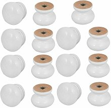 sourcingmap® 15 Stück Kabinett Küchenschrank
