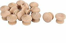 sourcingmap® 15 Stück Küche Schrank Tür Holz