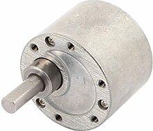 sourcingmap® 37GB Getriebe Kasten für GM37 Motor 500/520/540/545/3530/3540/555 Motor