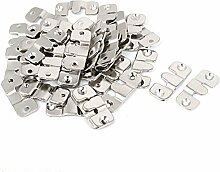sourcingmap® 40 Stück Möbel Metall Schnitt Bilderrahmen Couch Sofa Verbinderhalterung