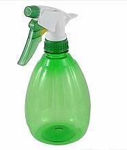 sourcingmap® 500ml 0.5L Friseur Bewässerung Wasser Trigger Sprayer Sprühflasche grün