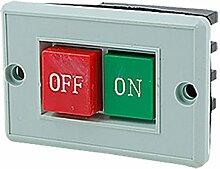 sourcingmap® AC 380V CONTROL Maschine Werkzeuge auf off Push Button Switch