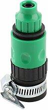 sourcingmap® Bewässerung Fitting Sprinkler Schlauch Verbinder Gelenkadapter 3/8BSP GewindeDmr
