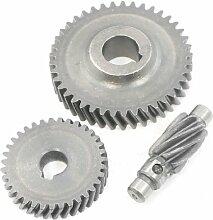 Sourcingmap Feste Helical Getriebe Elektrowerkzeug Teil Spiral für Boda 16Bohrmaschine