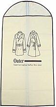 sourcingmap Garderobe Jacke Anzug Kleid Mantel Kleidung staubdicht hängen Abdeckung Tasche