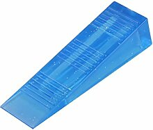 sourcingmap® Haushalt Büro Harz Keil Design Sicherheit Türstopper Schutz Blau