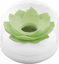 sourcingmap® Haushalt Lotus Blume Design Baumwolle Halter Zahnstocher Lagerung Box Gefäß