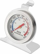 sourcingmap Haushalt Metall Lebensmittel BBQ Grill Ofen Thermometer Temperaturmessgerä