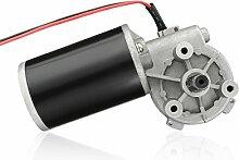 sourcingmap® JCF63L DC24V 80W verminderte Geschwindigkeit Hoch Drehment Elektromotor Getriebe