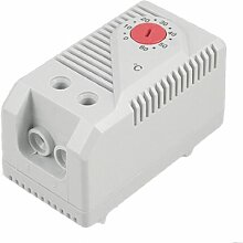 sourcingmap® NC-Kontakte, DIN-Schienen-Mechanischer Heizungsregler, Thermostat Regler