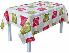 sourcingmap® PVC Wachstuch Tischdecke Abwischbar Meterware Gartendecke Tischtuch Multi Größe