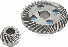 sourcingmap® Reparaturteil Ring Liebe 44mm x 11mm Spiralkegel rad schneidmaschine Ritzelsatz