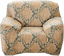 sourcingmap Stretch Schonbezug. Form Passt, Rutschfest, Stilvoll Möbel Shield / Schoner Mit Weich, Leicht Schoner Couch. Sofa Überwurf 35-55 inch - lassen Sie Blumen-1 Sitz