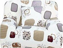 sourcingmap Stretch Schonbezug. Form Passt, Rutschfest, Stilvoll Möbel Shield / Schoner Mit Weich, Leicht Schoner Couch. Sofa Überwurf 35-55 inch - Elegant Blume-1 sitz