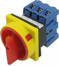 sourcingmap® Ui 600V mit 40A EIN / AUS Position 3 Phasen Drehen Kolben Umstellung Schalter