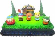 South Park Geburtstagstortenaufsatz mit South Park