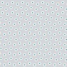 Sovie HOME Tischdecke Snowflakes Silber-Türkis  