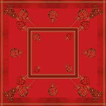 Sovie Home Tischdecke Tiffany Rot   Linclass®
