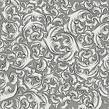 Sovie HORECA Tischdecke Cascade   grau aus
