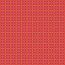 Sovie HORECA Tischdecke Scarlett in Rot-Blau   aus