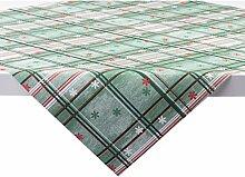 Sovie HORECA Tischdecke Tim in Grün-Rot | aus