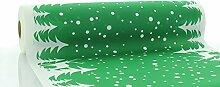 Sovie HORECA Tischläufer Marvin in Grün | aus