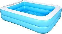 SOWUDM Aufblasbarer Pool Aufblasbarer Schwimmbad