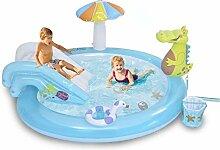 SOWUDM Aufblasbarer Pool Aufblasbares Spielzentrum