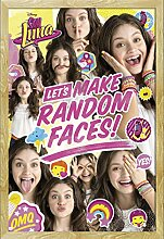 Soy Luna - Random Face Group - Filmposter Kino