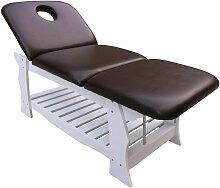 Spa Massageliege Holz Behandlungsliege