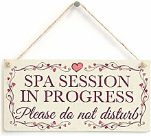 Spa Session in Progress Bitte Nicht