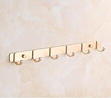 Space Aluminium-Metall-Bad-Accessoires Handtuch Regal Bad Aktivitäten [Handtuchhalter] Haken WC Fach WC-Bürstenhalter -H