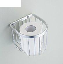 Space Aluminium Papier Handtuchhalter,Toilettenpapier-regal,Gewebe-halter,Seidenpapier Korb,Papier Halter Papier,Warenkorb