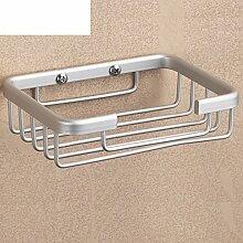 Space Aluminium Seifenkiste/Bad Seifenschale/Wand-Soap Box/Bad-Accessoires-A