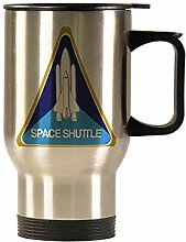 Space Shuttle Program Auto-Becher aus Edelstahl,