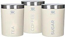 Spacetouch 3-teiliges Dosen-Set für Tee, Kaffee,